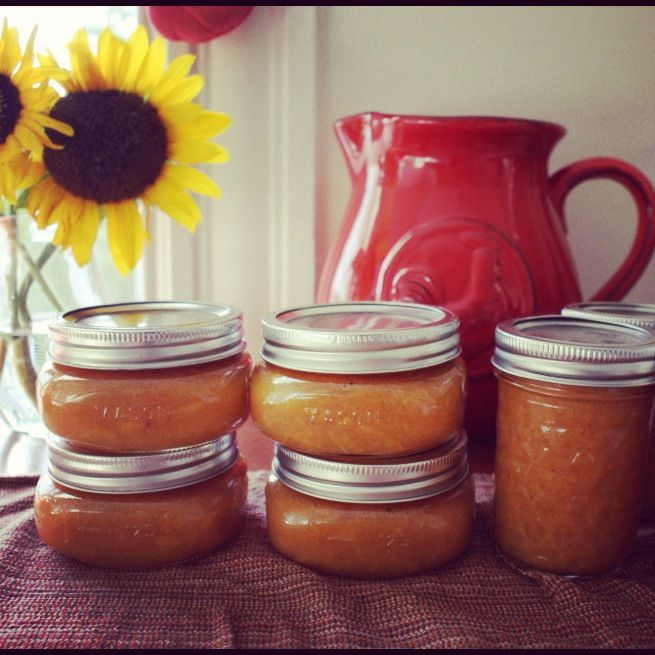 Maple-Vanilla-Peach jars