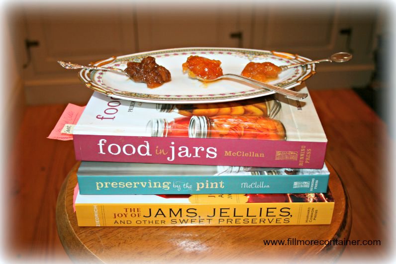 Peach Jams & Book Sources Fillmore Container