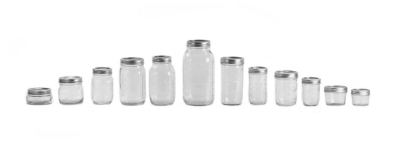 Pressure Canning Jars