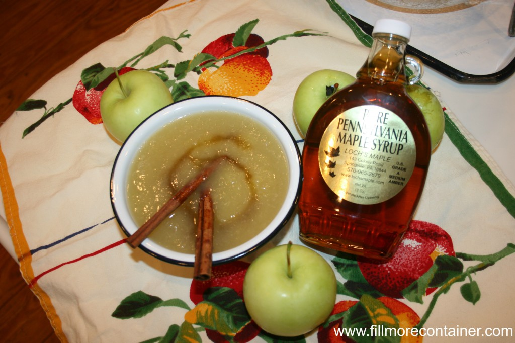 Cinnamon Apple Sauce