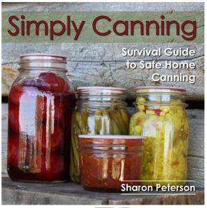 Simply Canning Book Cover