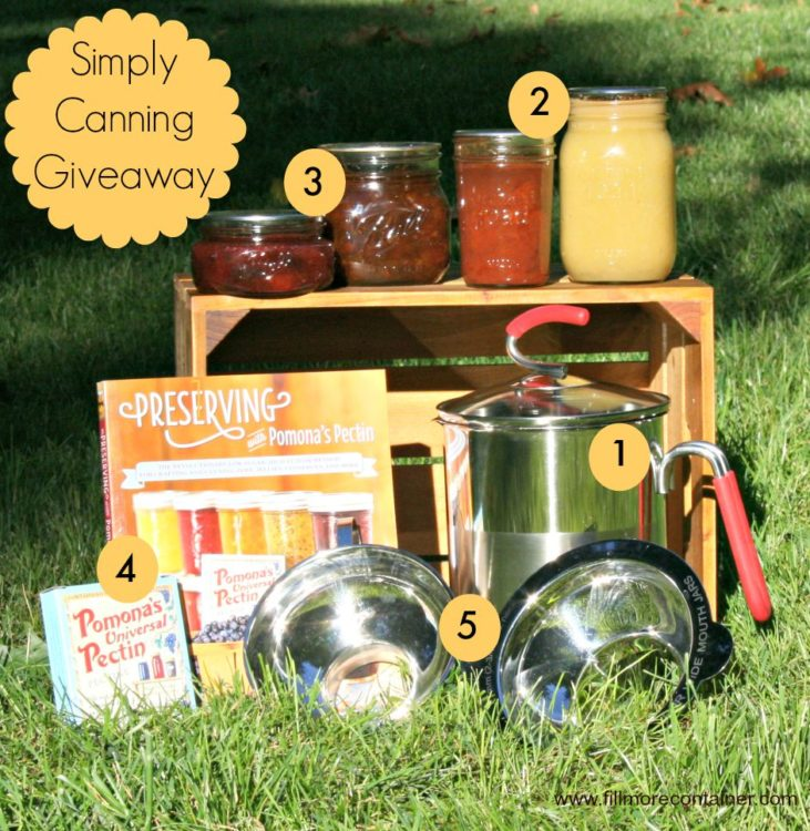 Simply Canning Fillmore Container Giveaway-ItemsMarked