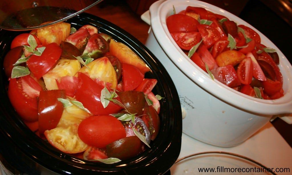 crockpot tomatoes
