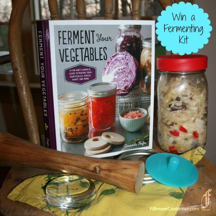 Ferment Your Vegetables Pickle Pipes Packer Giveaway