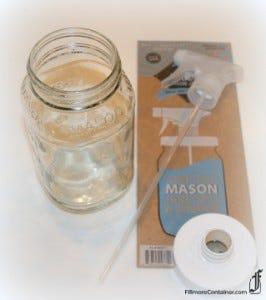 Mason Jar Spray Adapta Fillmore Container