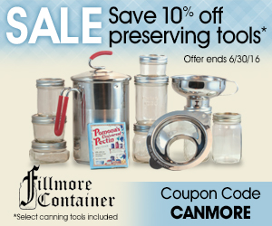 Canning Sale - Fillmore Container