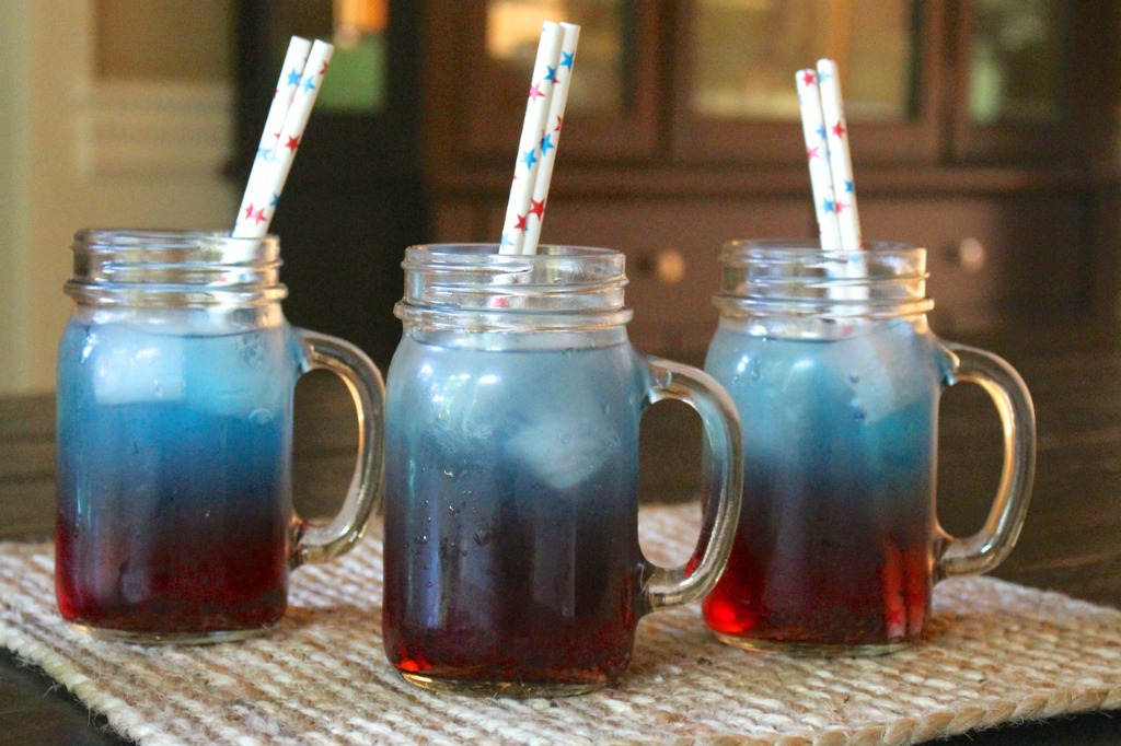 4th of July Straws Mugs drink