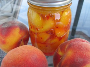 Spicy Peach Slices - Joy of Pickling