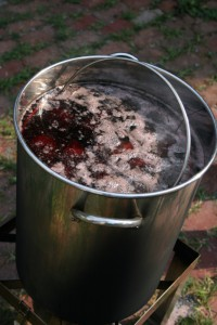 Cooking Beets in the turkey fryer