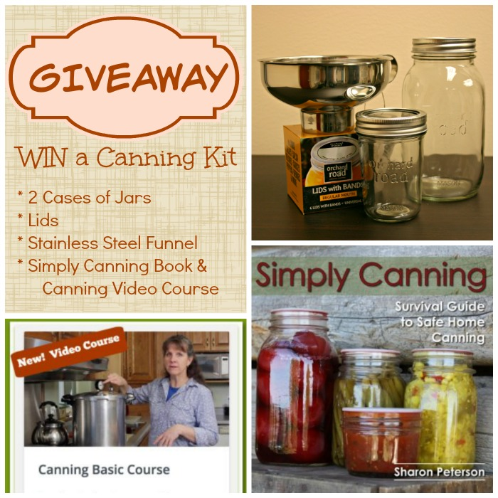 Simply Canning Giveaway