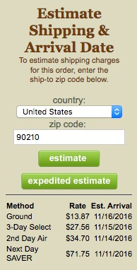 shipping-estimator