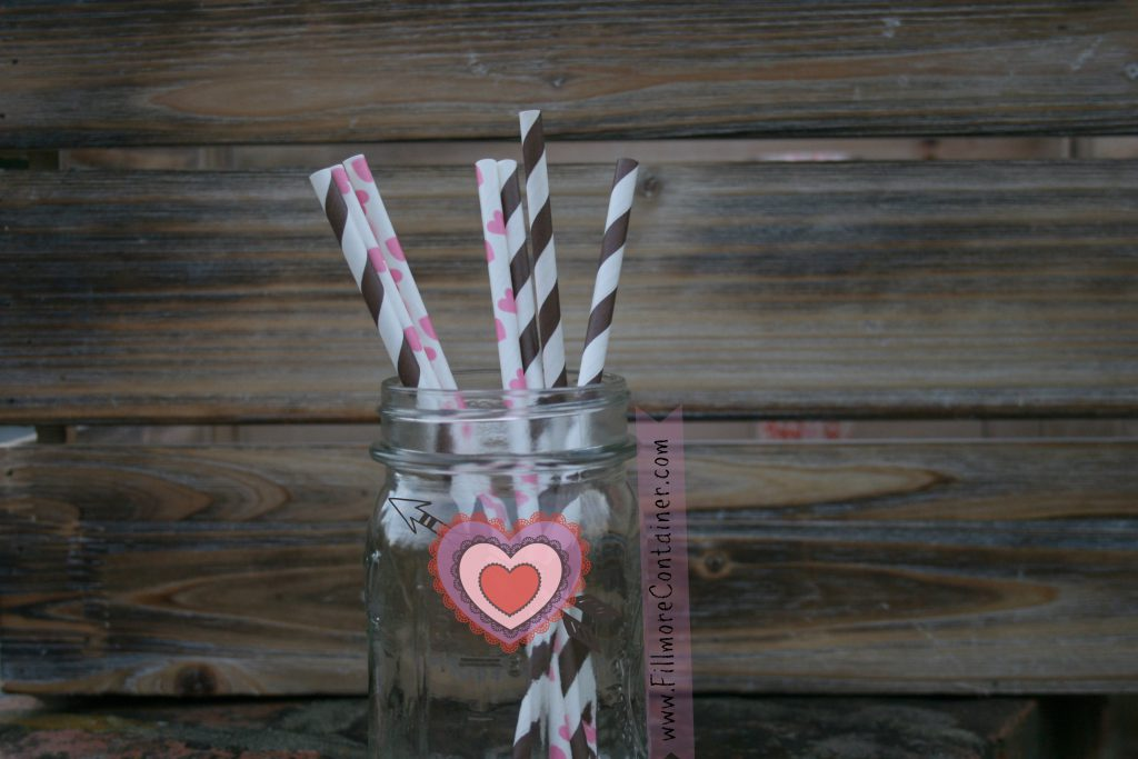 pink-hearts-and-brown-straw