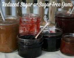reducedSugar jams
