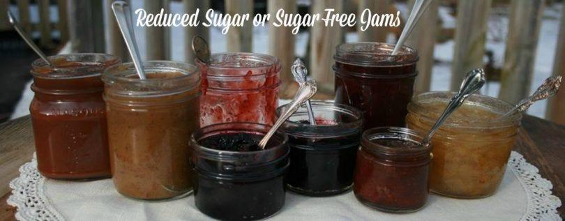 reducedSugar jams