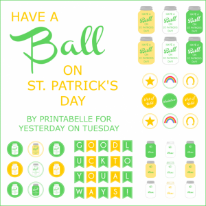 Have a Ball Printables : Yesterday on Tuesday