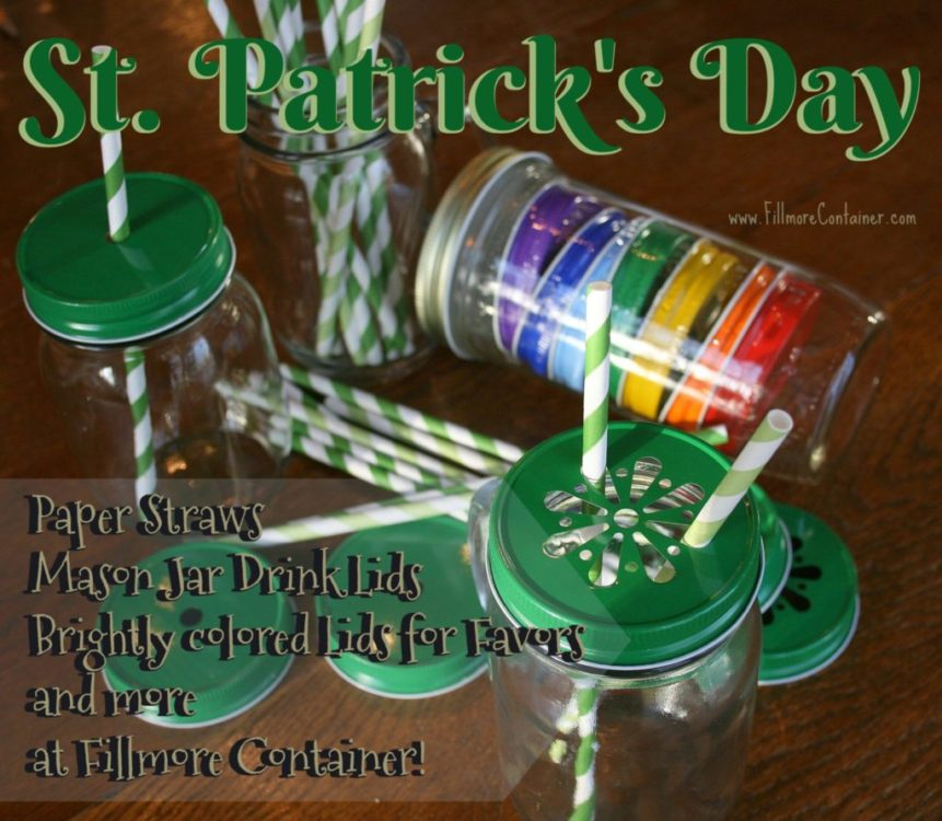 St Patrick's Day Fillmore Container
