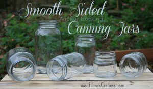 Anchor Hocking Smooth Canning Jars from Fillmore Container