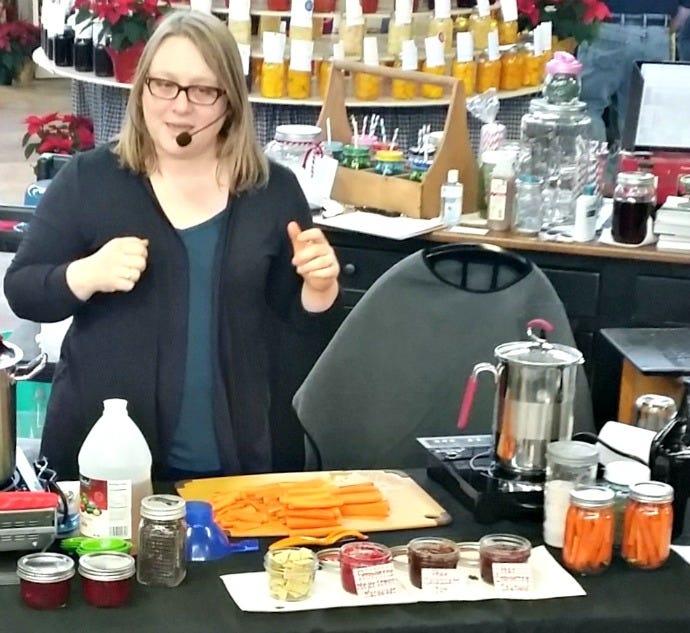 Marisa Pickling Carrots 2