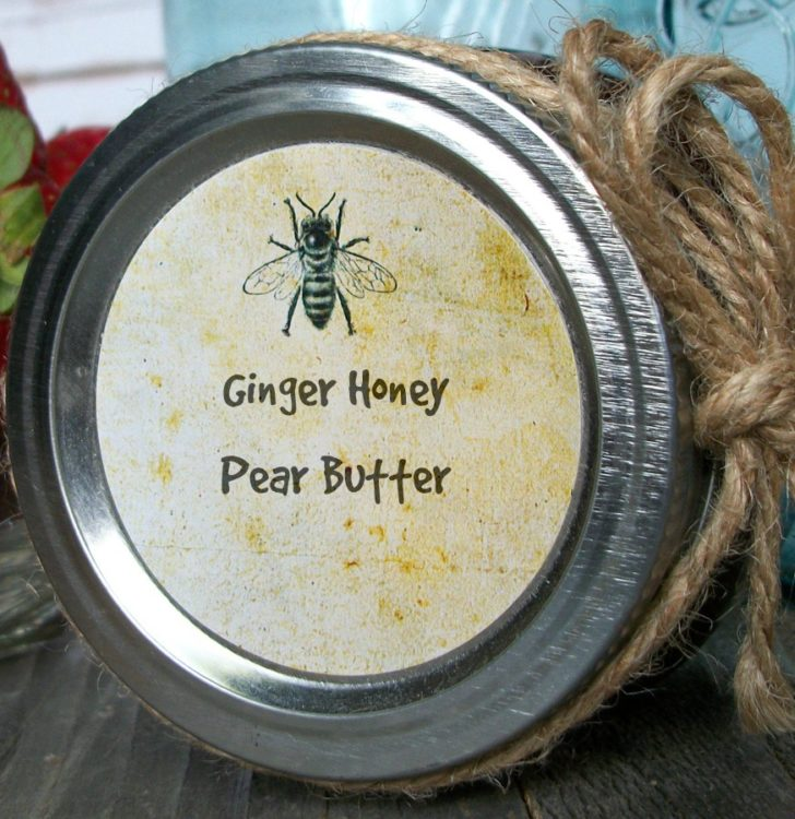 CanningCrafts_vintage-Label - GingerHoneyPearButter