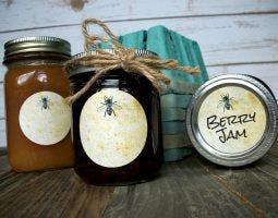 CanningCrafts_vintage-honey-bee-label-