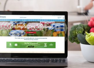 New Blog Website Displayed on Laptop