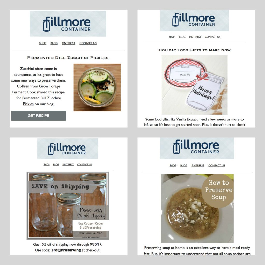 Fillmore Container emails
