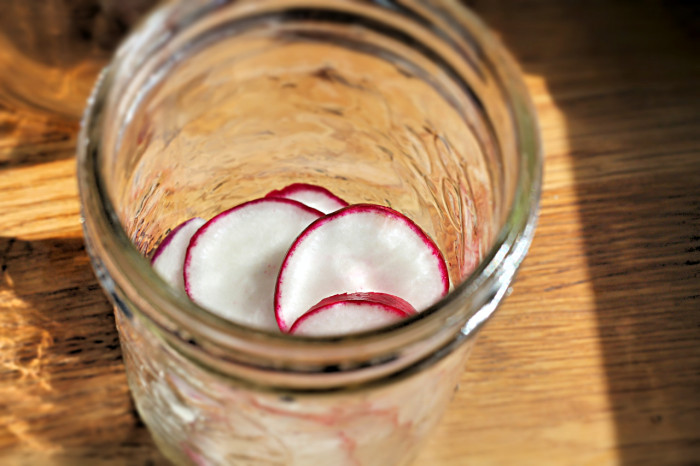 Pickled-radish