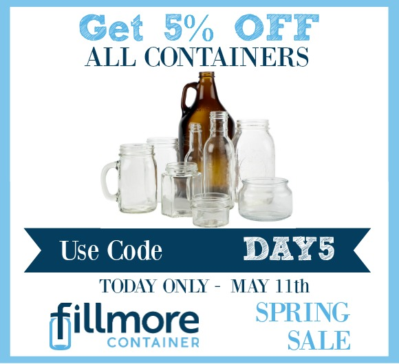 5% off containers