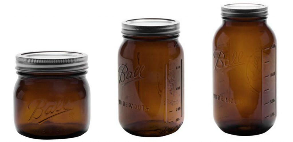 Amber Elite Jar Collection-Ball