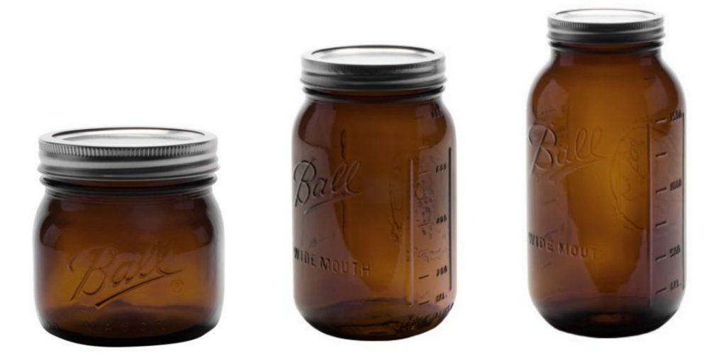 Amber Elite Jar Collection-Ball
