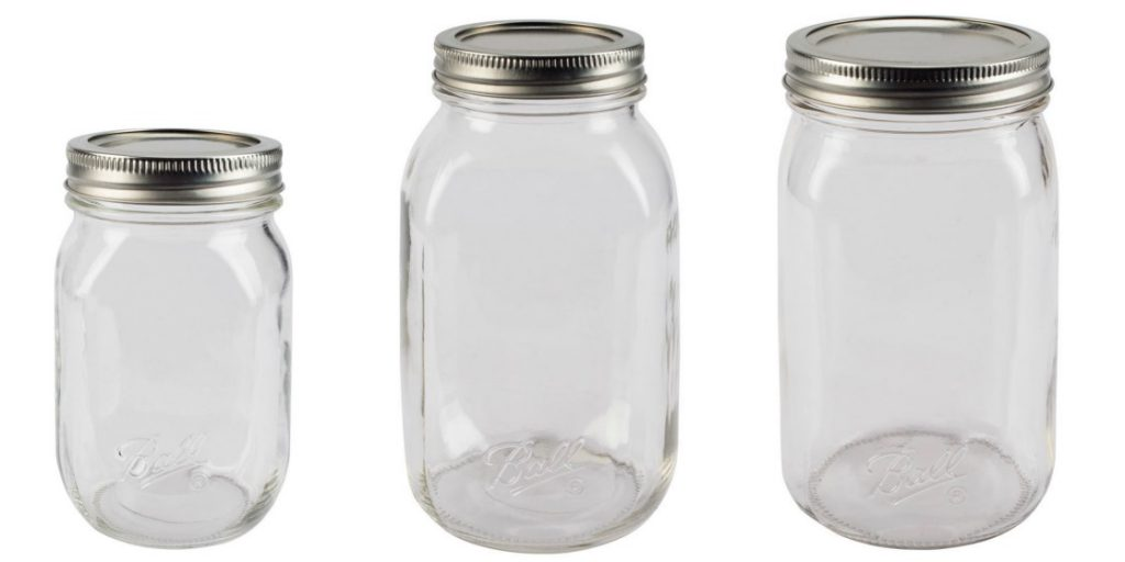 Ball SmoothSidded Jars