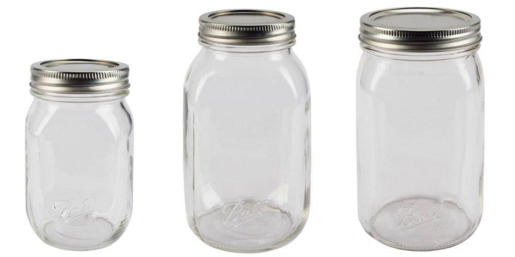 Ball SmoothSidded Jars