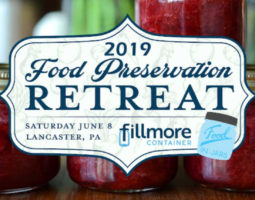 Food Preservation Retreat 2019