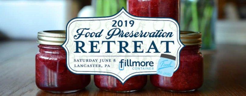 Food Preservation Retreat 2019