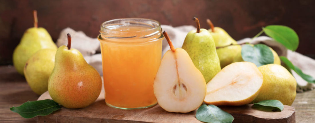 Pear Vanilla Honey Jam