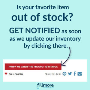 Back in Stock notification