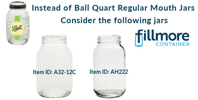 Ball Quart Jars - Alternatives