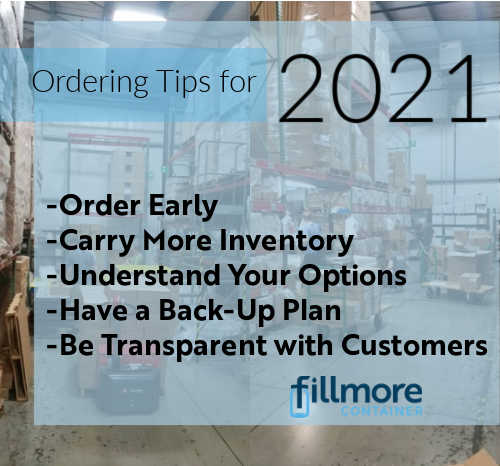 Ordering Tips 2021