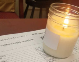 Candle Testing Template