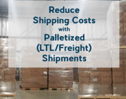 Learn about Palletized Shipping