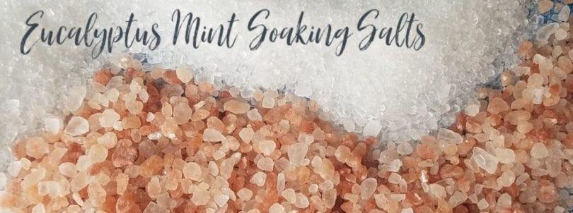 eucalyptus mint soaking salt