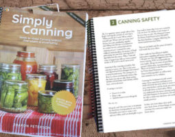 Simply Canning Book