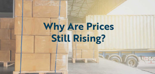 Price and shipping increases