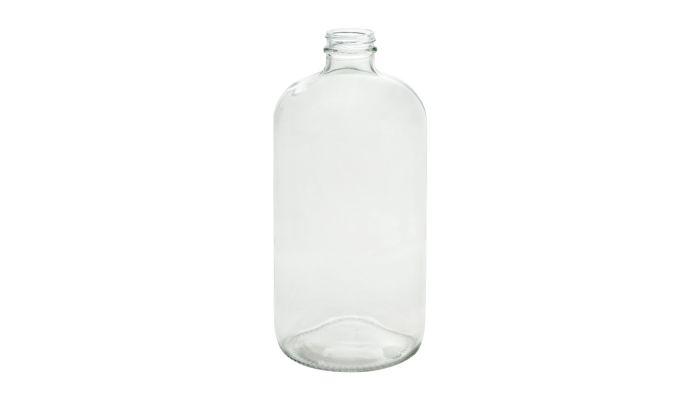 32oz Amber Mini Growler Glass Jug Case of 12