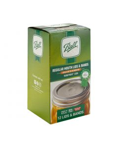Ball Regular Mouth Canning Lids & Bands - Fillmore Container