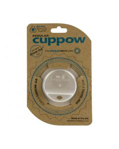 Cuppow Lid - Regular Mouth Clear
