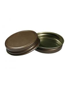 Regular Mouth (70/450) Rustic Bronze Mason Jar Lid - Fillmore Container