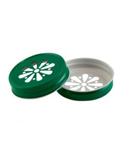 Green Daisy Mason Lid Unlined G70RC-G70 DGRU