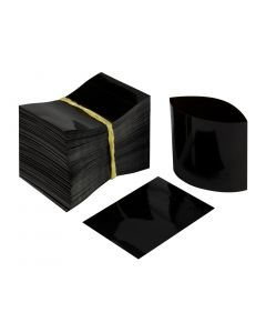 Black Heat Shrink Bands for Containers with 18mm Finish (Pack of 250) - Fillmore Container