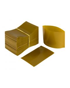 Gold Heat Shrink Bands for Sauce Bottles with 38mm Finish